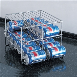 24 can soda rack
