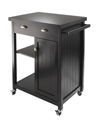 Timber Kitchen Cart can match any kitchen decor.