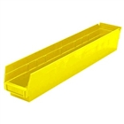 "12 Akro Shelf Bins - 17-7/8""L x 4-1/8""W x 4""H"