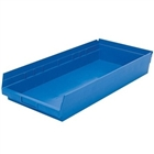 "12 Akro Shelf Bins - 17-7/8""L x 8-3/8""W x 4""H"