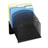 Onyx Mesh 8 Section Tiered File Organizer