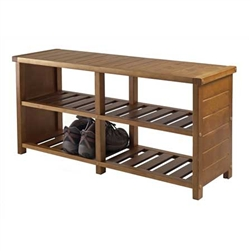 Keystone Shoe Bench is sturdy to hold numerous shoes.
