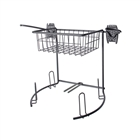 Schulte freedomRail Golf Rack and Basket in Granite