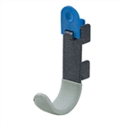 freedomRail Single Hook with Lock in granite