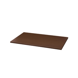 "14""d x 24""w Shelf - Chocolate Pear"