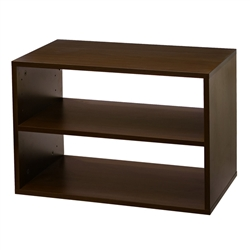 Big O-Box Shelf Unit - Chocolate Pear