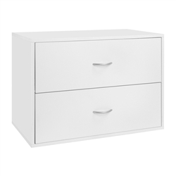 Big O-Box 2 Drawer - White