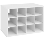 Big O-Box Cubby - White