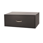 Organized Living freedomRail Double Hang O-Box 1 Drawer