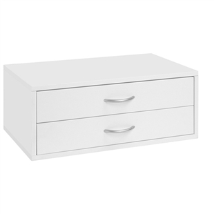 Organized Living freedomRail Double Hang O-Box 2 Drawer