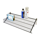 Schulte freedomRail Granite tiered wire shelving