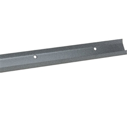 Schulte freedomRail granite hanging rail for garage shelving and storage