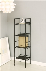 Ebonize 4 Tier Square Shelf