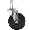 "Rubber Stem Casters for 1"" chrome posts"
