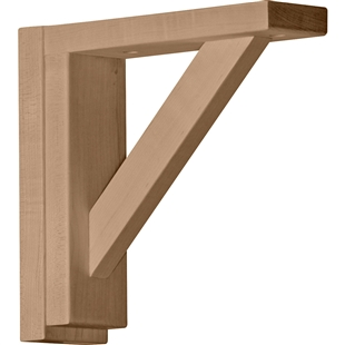 "Traditional Shelf Bracket 8.75""d"