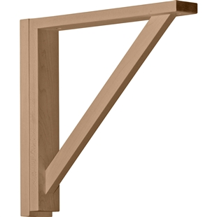"Traditional Shelf Bracket 14.75""d"