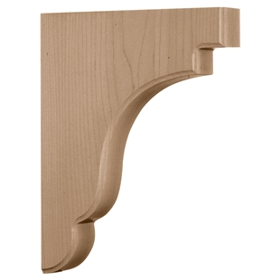 "Bedford Wood Bracket 8.5""d"