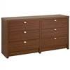 Designer 6 Drawer Dresser