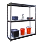 "Steel Shelving 24""d by Hallowell"