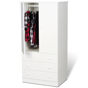 Edenvale 3 Drawer Wardrobe