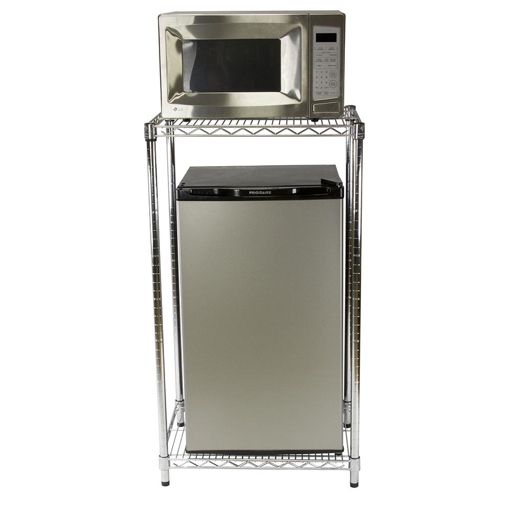 Refrigerator Storage Stand For Dorm Room Organization