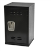 Mini kids locker in black