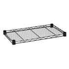 "Black Wire Shelf 18""d x 24""w - Nexel"