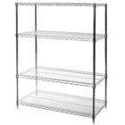 "18""d x 42""w Wire Shelving Unit with 4 Shelves"