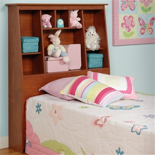 Twin Bookcase Headboard - Tall
