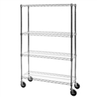 "18""d Mobile Wire Shelving Trucks"
