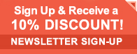 Subscribe to our newsletter and receive 10% off