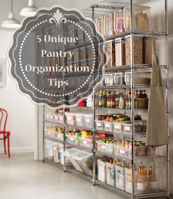 Effective Pantry Shelving Designs For Well Organized: 5 Unique Pantry Organization Tips