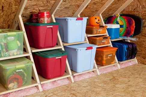 Attic Storage Tips And Solutions