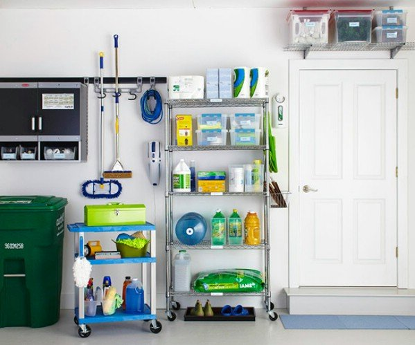 Attractive Safe Storage For Household Cleaning Supplies