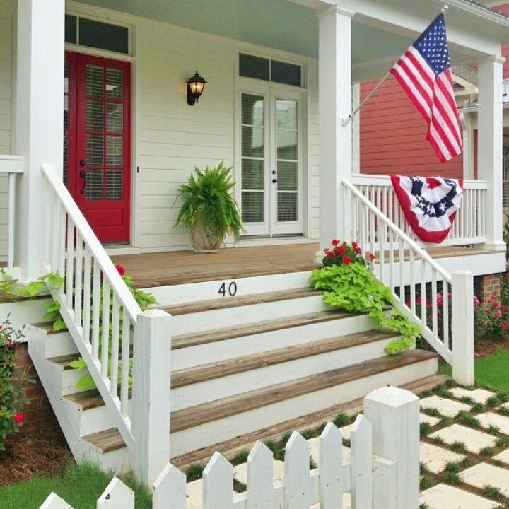 Front Porch Steps : Five steps to speed clean your porch for springtime the