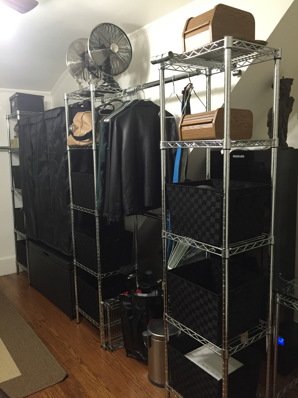 where to put your clothes when you don't have a closet - the Storage Ideas When You Don't Have a Closet