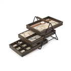 Terrace Jewelry Organizer Black