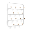 Estique Multi-Hook Organizer - White