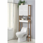 Bamboo Over the Toilet Spacesaver