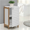 Bamboo Bathroom Floor Cabinet
