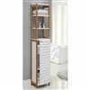 Bamboo Bathroom High Cabinet