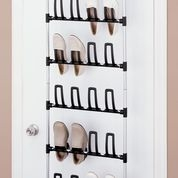 Over the Door 12 pair shoe rack