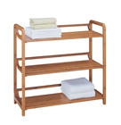Lohas Bamboo 3 Tier Shelf for bathroom and linen storage