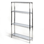 "8"" acrylic liner for wire shelving"