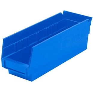 "12 Akro Shelf Bins - 11-5/8""L x 6-5/8""W x 4""H"