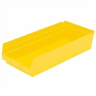 "6 Akro Shelf Bins - 23-5/8""L x 8-3/8""W x 4""H"