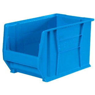 "6 Akro Genuine Stacking Bins - 10 7/8""d x 16 1/2""w x 5""h"
