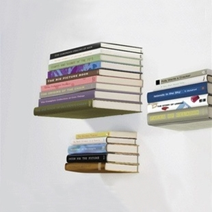 Umbra Conceal Floating Book Shelf Large Larger Photo Email A Friend