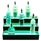 Three Tier LED Bottle Display