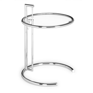 Eileen Gray Side Table Chrome